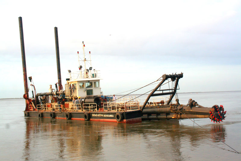 Northeast indiana noble county canal dredging